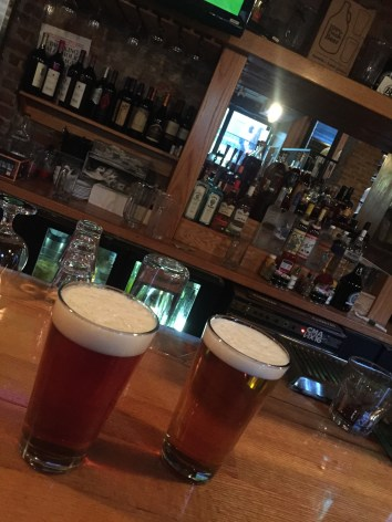 American Wheat and American Pale Ale at Bluegrass Brewing Company