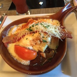 The Hot Brown at J. Graham's Cafe at the Brown Hotel