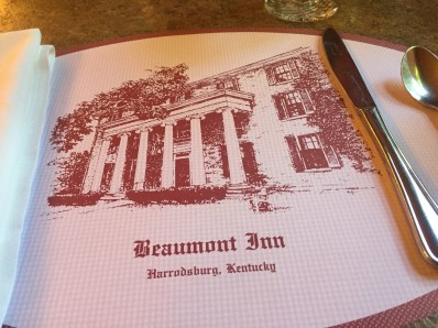 Breakfast at Beaumont Inn in Harrodsburg, Kentucky