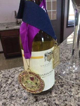 Lover's Leap award-winning chardonnay