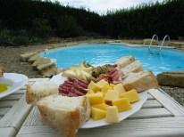 Antipasti platter in Impruneta, Tuscany