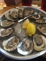Oysters on the half shell at Union Oyster House