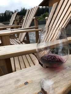 Wine tasting at Penner-Ash Wine Cellars in Newberg, OR