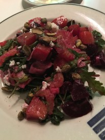 Roasted Beet Salad at Blueacre Seafood in Seattle, WA