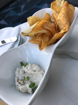 Onion Dip at Renaissance Hotel