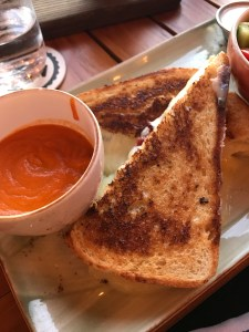 Grilled cheese at Edison