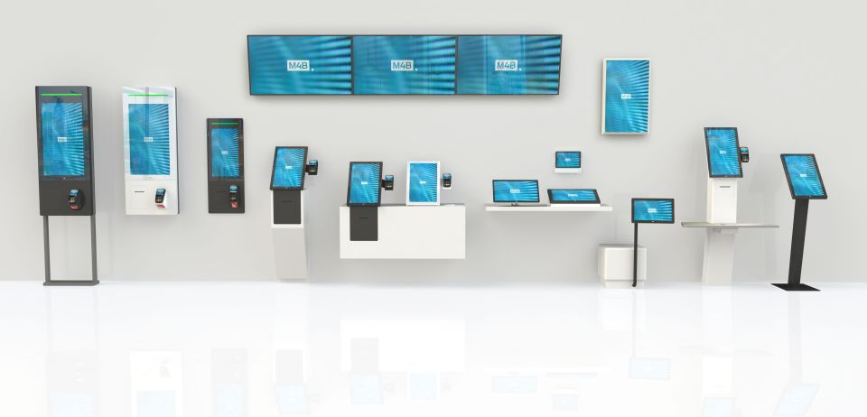 hardware kiosk and tablets for ordering