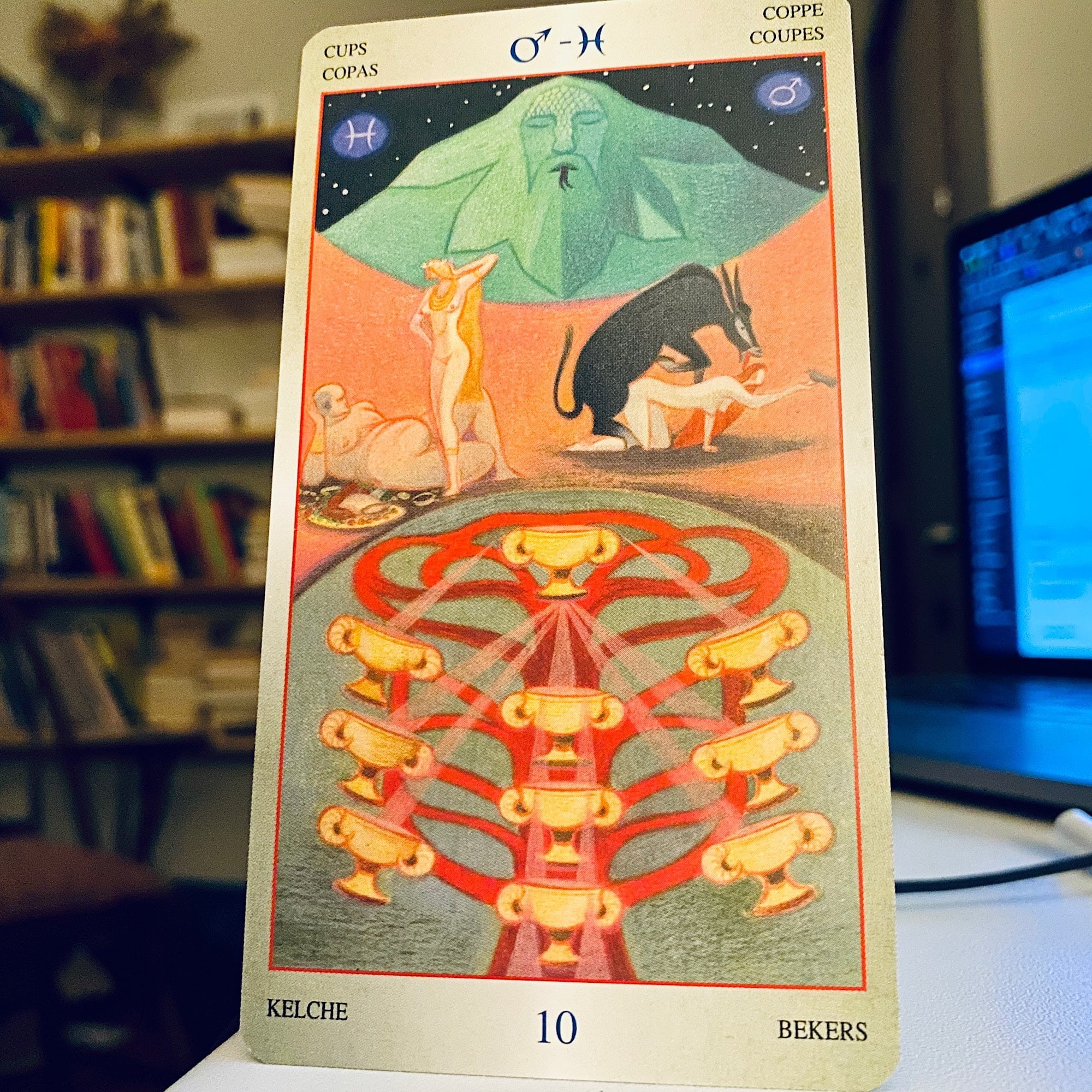 Liber T 10 of Cups