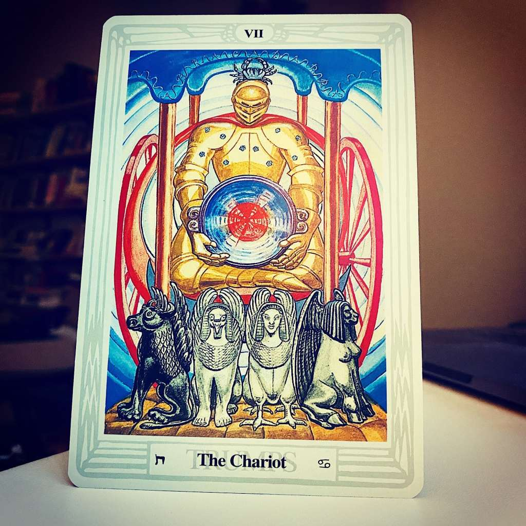The Chariot - Thoth Tarot