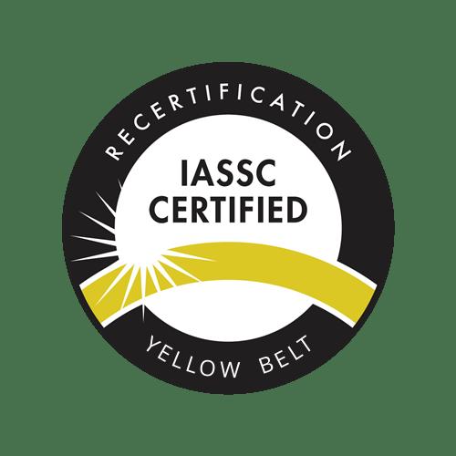 IASSC Yellow Belt Recertification Exam