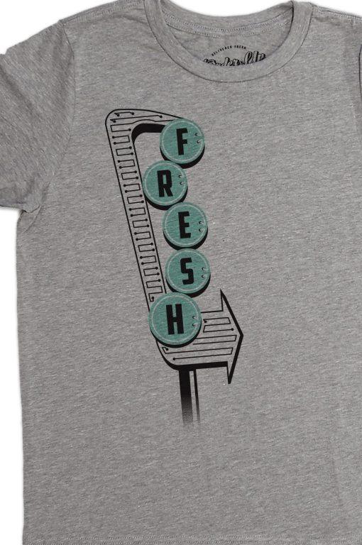 Boys Fresh Vintage Sign T-Shirts