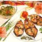 Grillades de thon sauce chien