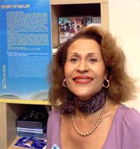Suzanne Dracius au Salon du Livre de Paris 2016