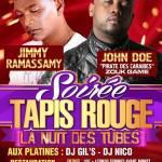 Jimmy Ramassamy - Soirée Tapis Rouge - Palais91