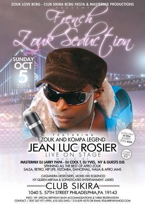 Jean-Luc Rosier, tournée US