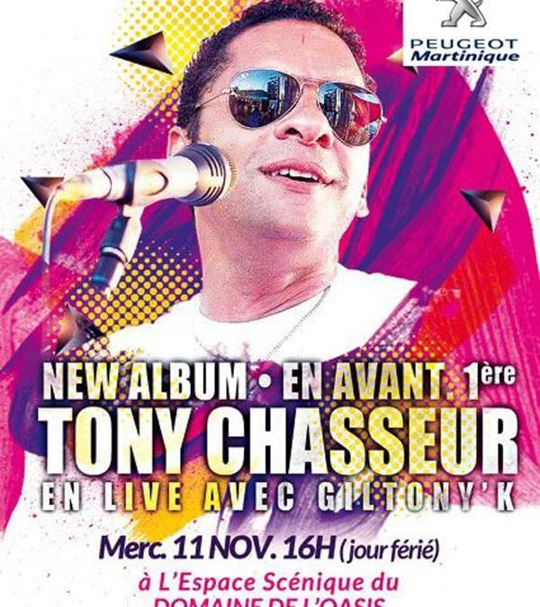 Tony Chasseur en concert à l'Oasis