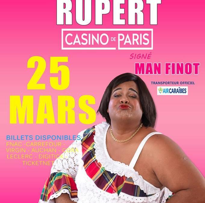 Spectacle – Man'Finot au Casino de Paris