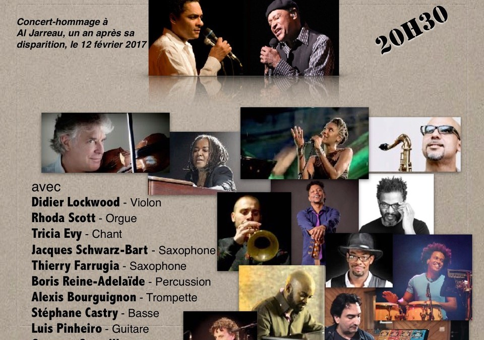 Concert – Tony Chasseur rend hommage à Al Jarreau