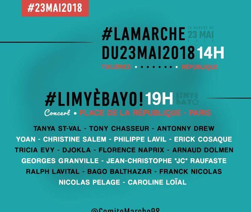 Evenement – 23 mé – Limyè Ba Yo