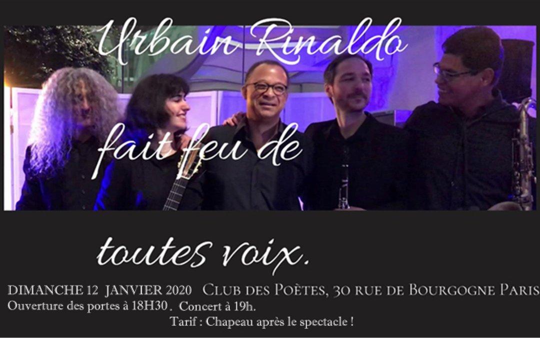 Concert – Urbain Rinaldo