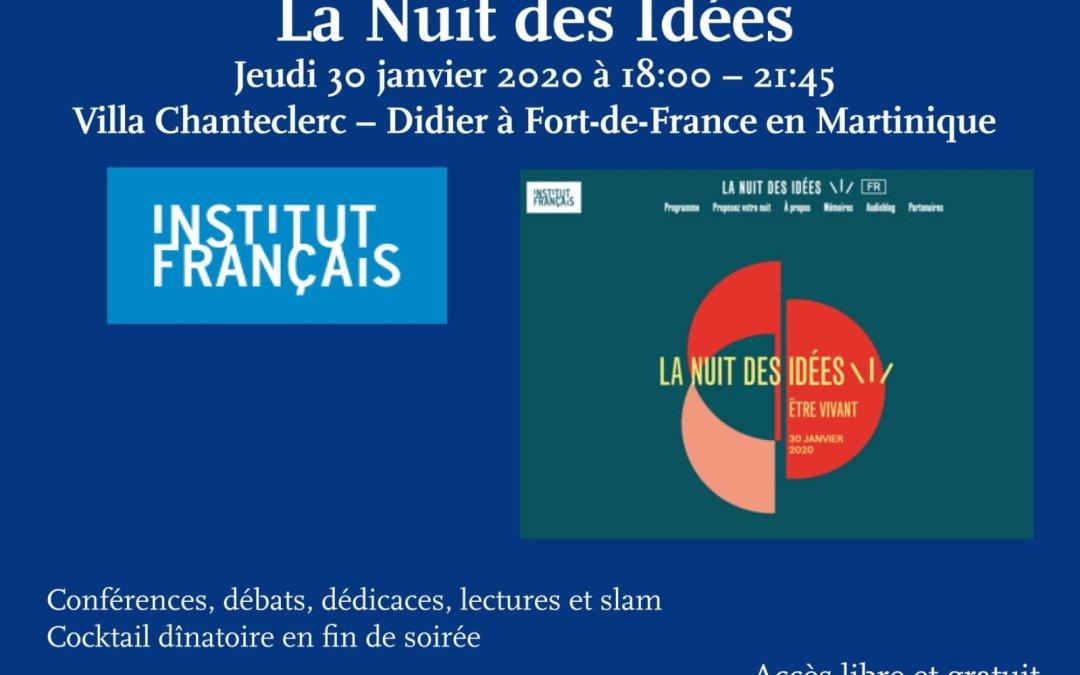 Littérature – La Nuit des idées