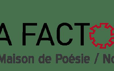 Littérature – Appel à Résidence – La Factorie