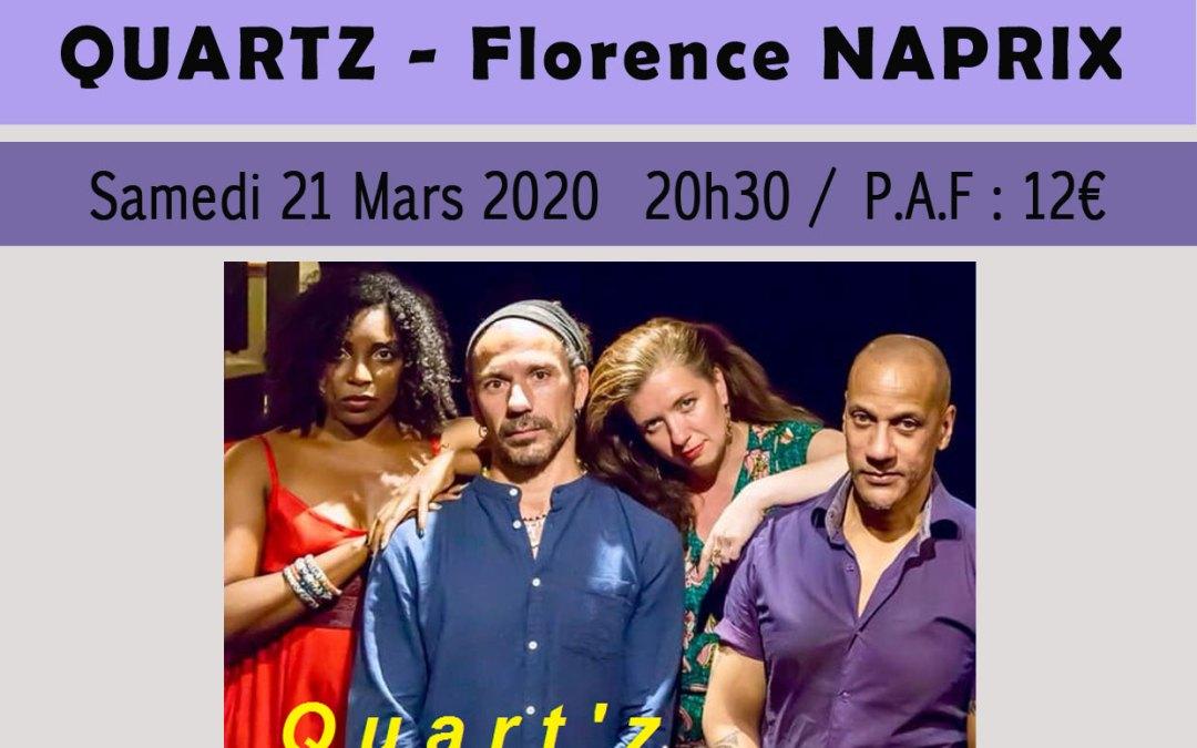 Concert – Florence Naprix – Quart'z