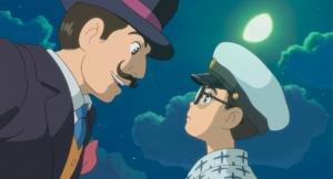 Jiro og hans store mester Caproni. Foto: Camera Film.