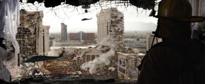 Den episke kamp mellem monstrene efterlader San Fransisco i ruiner. Foto: SF Film