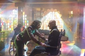 Ved tankens kraft møder den unge Charles Xavier sit ældre jeg og får uvurderlige råd (Foto: 20th Century Fox).