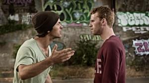 Tragedien kommer mellem Martin og Nikolaj. Foto: Nordisk Film
