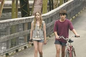 Henry på sin første date med Mandy. Foto: Gazette.