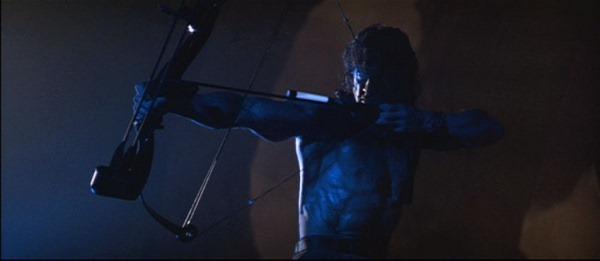 Last Blood (2019) bliver ikke Rambos første gang med en bue. (Foto: Lionsgate)