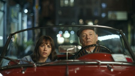 Far (Bill Murray) og datter (Rashida Jones) deler nogle finurlige scener sammen. (Foto: Kino.dk)