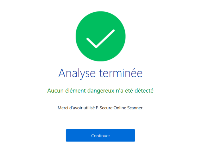 F-secure-analyse-terminée