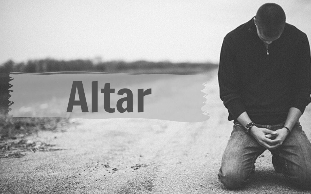 An Altar That Forgives Us