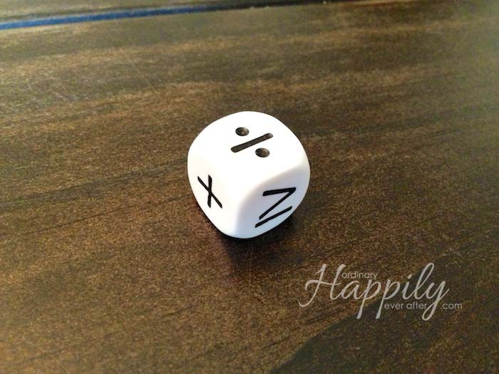 Educational Dice Bag Review   Ordinary Happily Ever After #homeschool #joyceherzog #games