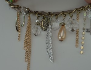 Left side of the 'charms'