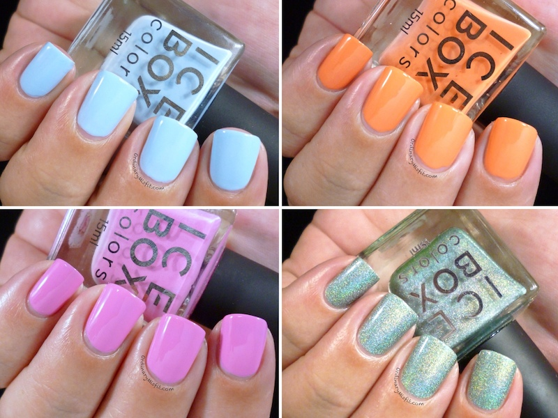 Ice Box Colors polishes