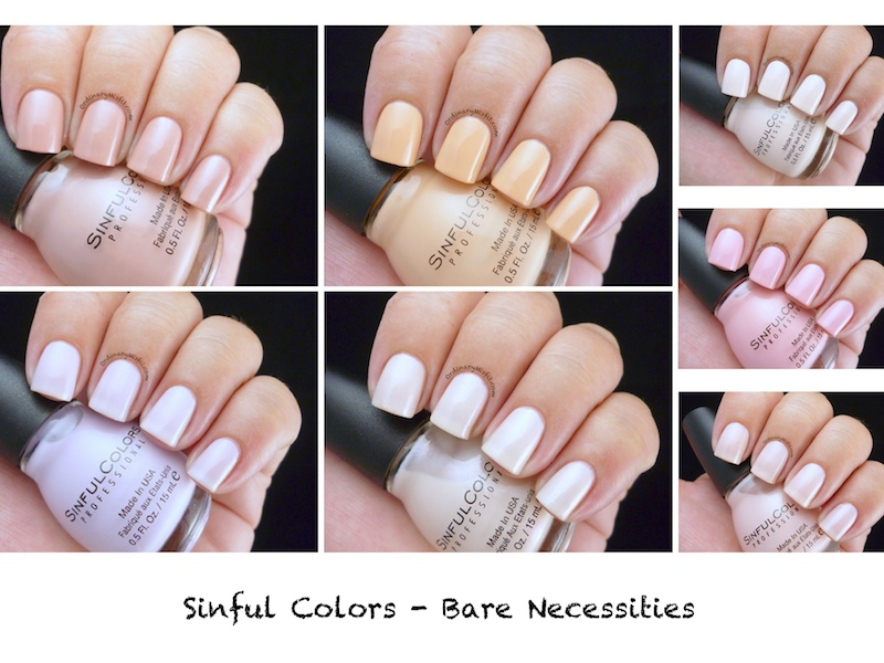 Sinful Colors - Bare Necessities collection