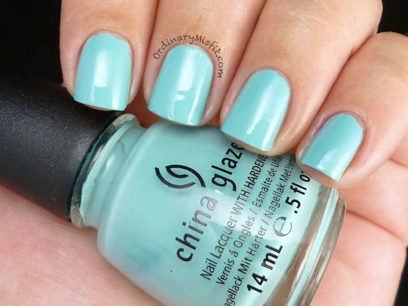 9b1a1bf085e Comparison  China Glaze For Audrey vs Too yacht to handle ...