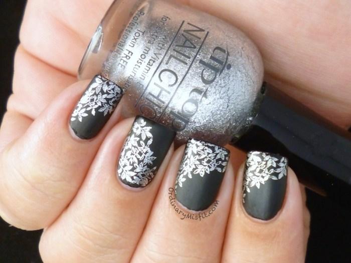 Matte black and silver 2