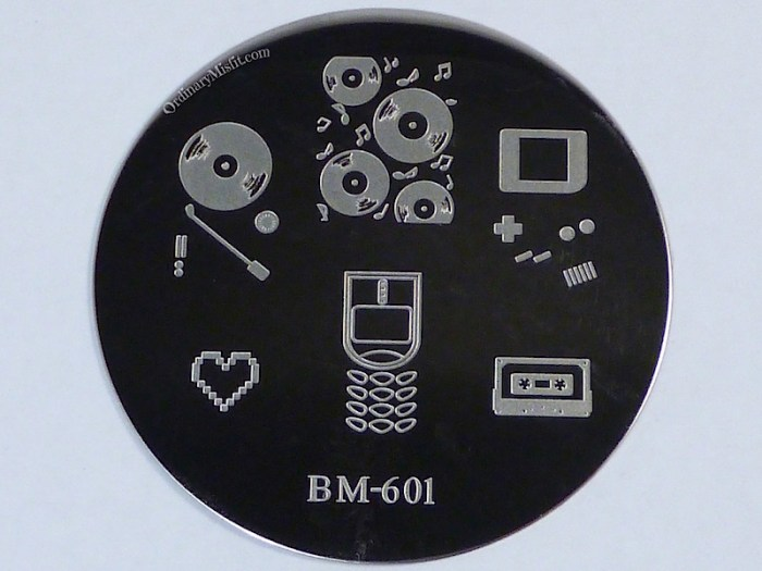 Bundle Monster 'Create Your Own' 2014 stamping plates BM601