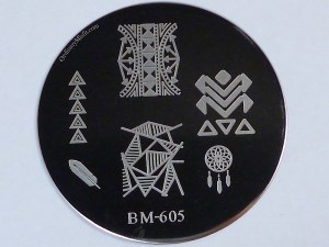 Bundle Monster 'Create Your Own' 2014 stamping plates BM605