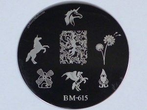 Bundle Monster 'Create Your Own' 2014 stamping plates BM615