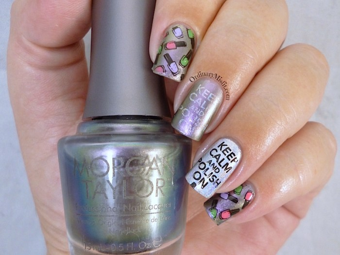 Bundle Monster 'Create Your Own' 2014 stamping plates nail art 2