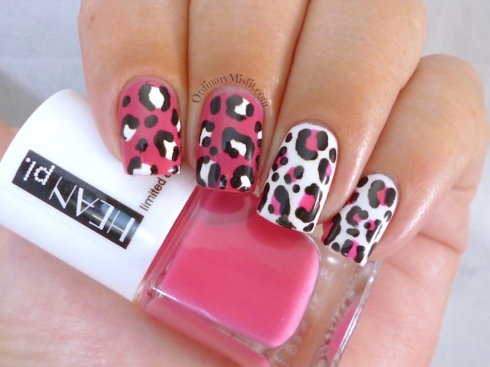 Hean Summer Collection #230 with nail art 2