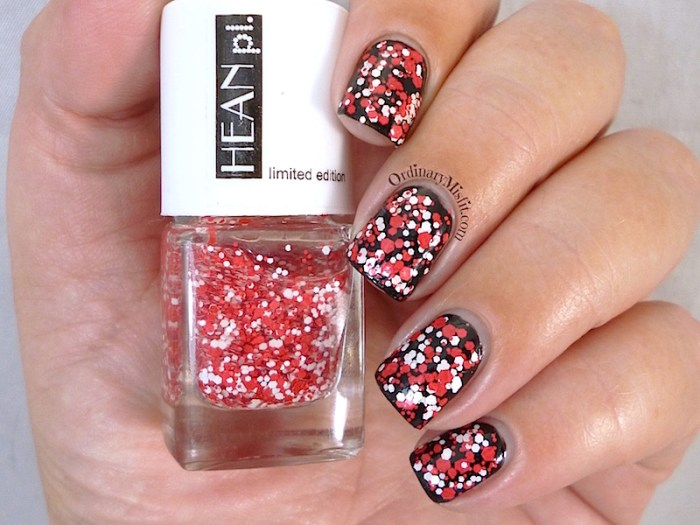 Hean Stardust collection #263 over black
