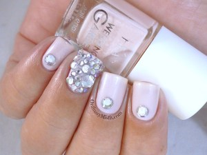 Hean Wedding Garden collection #642 with nail art