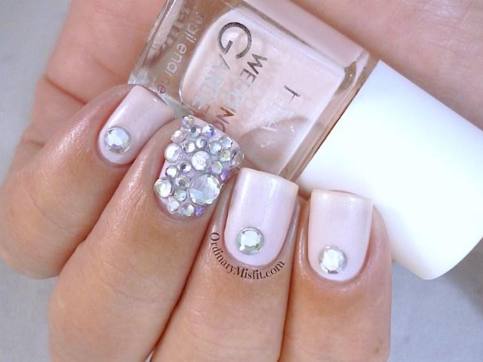 Hean Wedding Garden collection #642 with nail art 2